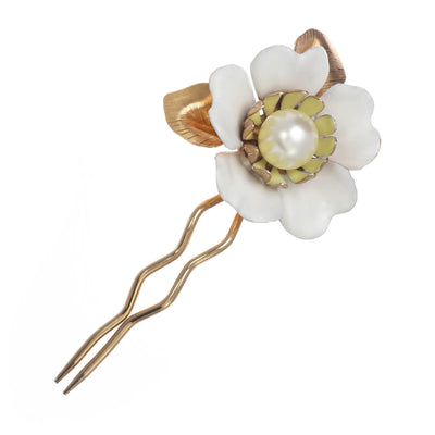 Large Floral Hair Pin
