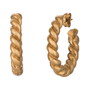 Small Twisted Rope Hoops