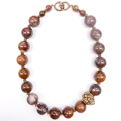 Vintage Pietersite Necklace