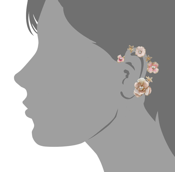 Flower Wreath Ear Cuff