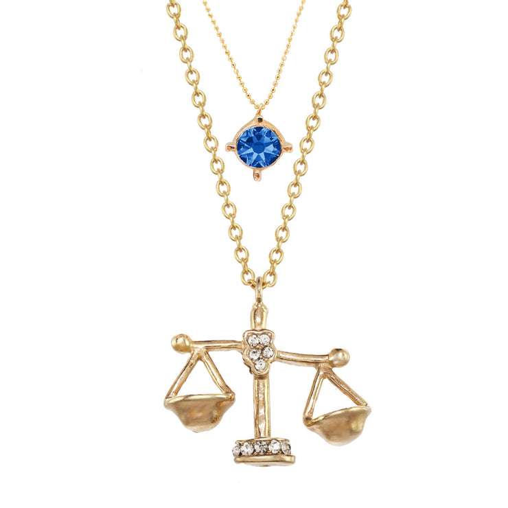Libra Charm Necklace