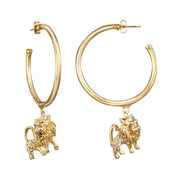 Leo Large Hoop Earring