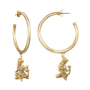 Virgo  Small Hoop Earring