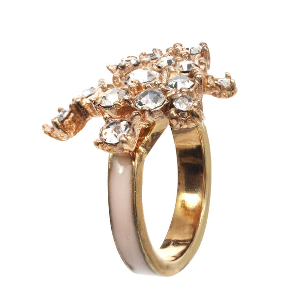 The Shooting Star Midi Ring