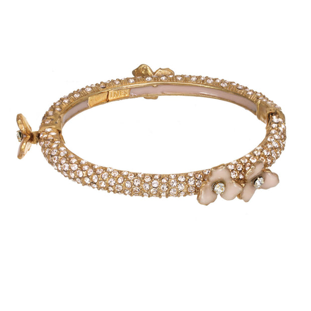 The Sparkling Lotus Bracelet
