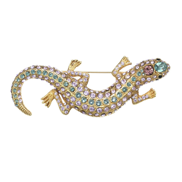 The Crystal Encrusted Garden Lizard