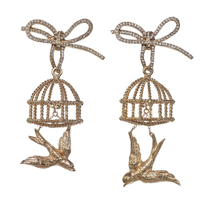 Escaping Bird Earring