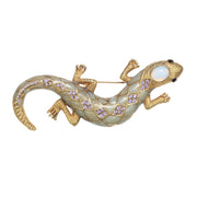 The Garden Lizard Pin