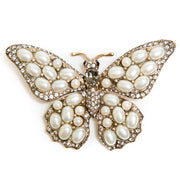 The Ivory Butterfly Pin
