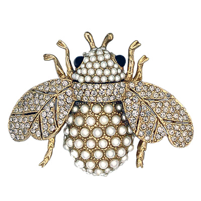 The Mighty Bee Pearl Ring