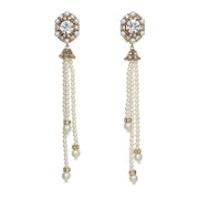 The Pearl Tassel Earring