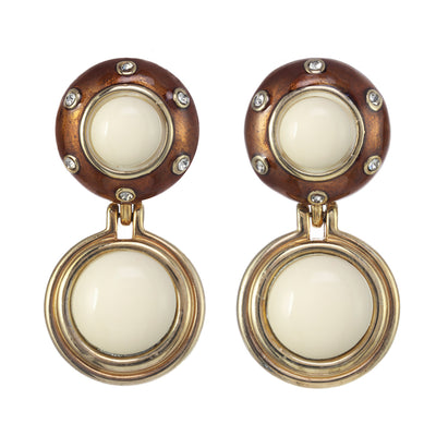 Rhythm Button Earring
