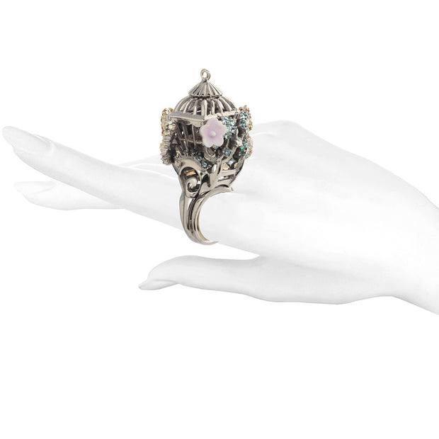Romantic Bird Cage Ring