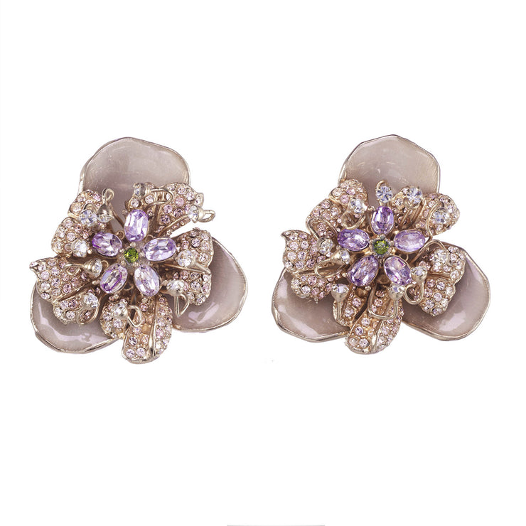 Signature Flower Earring