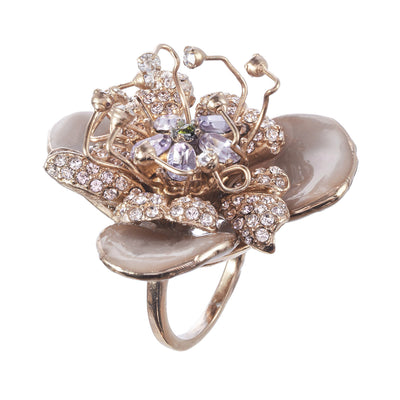 The Signature Flower Ring
