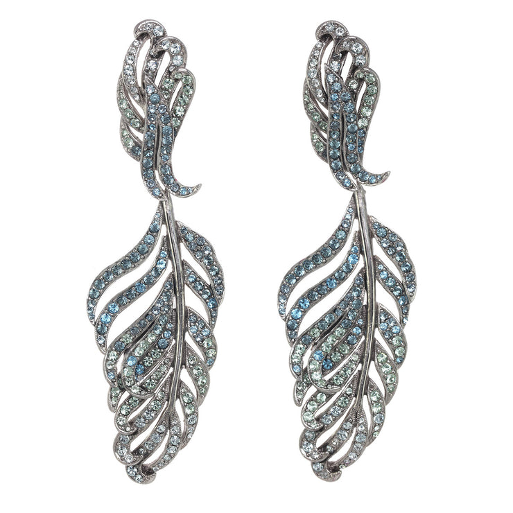 Statement Feather Earring