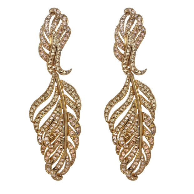 The Statement Feather Earring