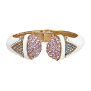The Violet Tip Clamper Bracelet
