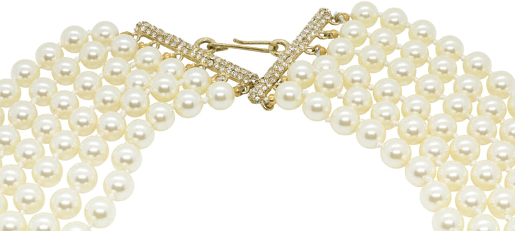 Oceana Mulitstrand Pearl Necklace
