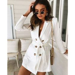 Long Trench Wind Coat
