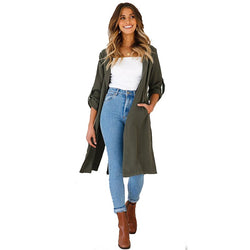 Women Trench Wind Coat