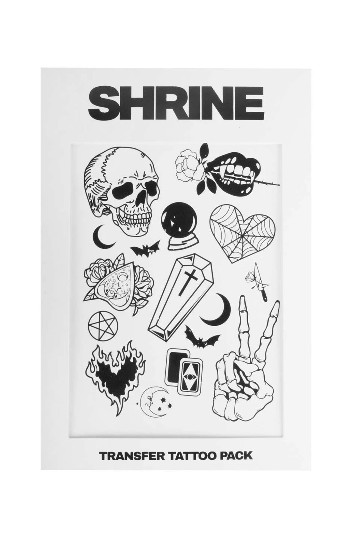 The Shrine Transfer Tattoo Set One Size