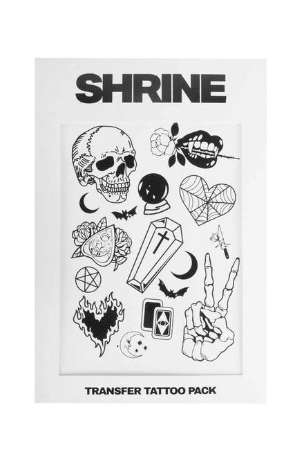 The Shrine Transfer Tattoo Set