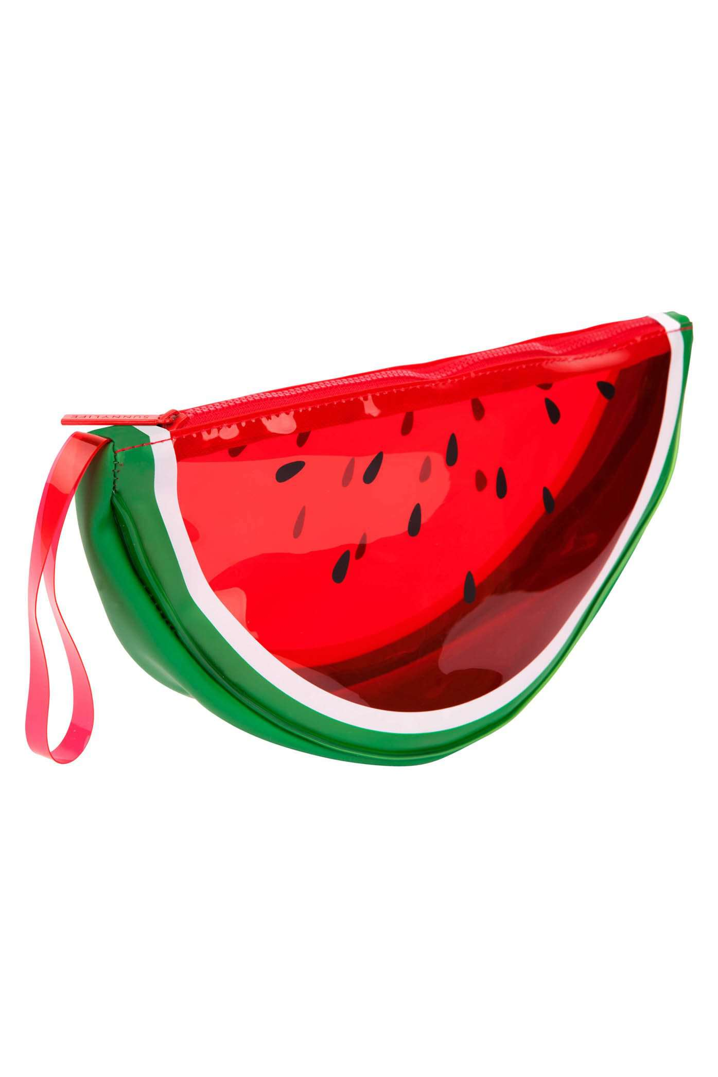 Sunnylife Watermelon Zip Clutch Bag