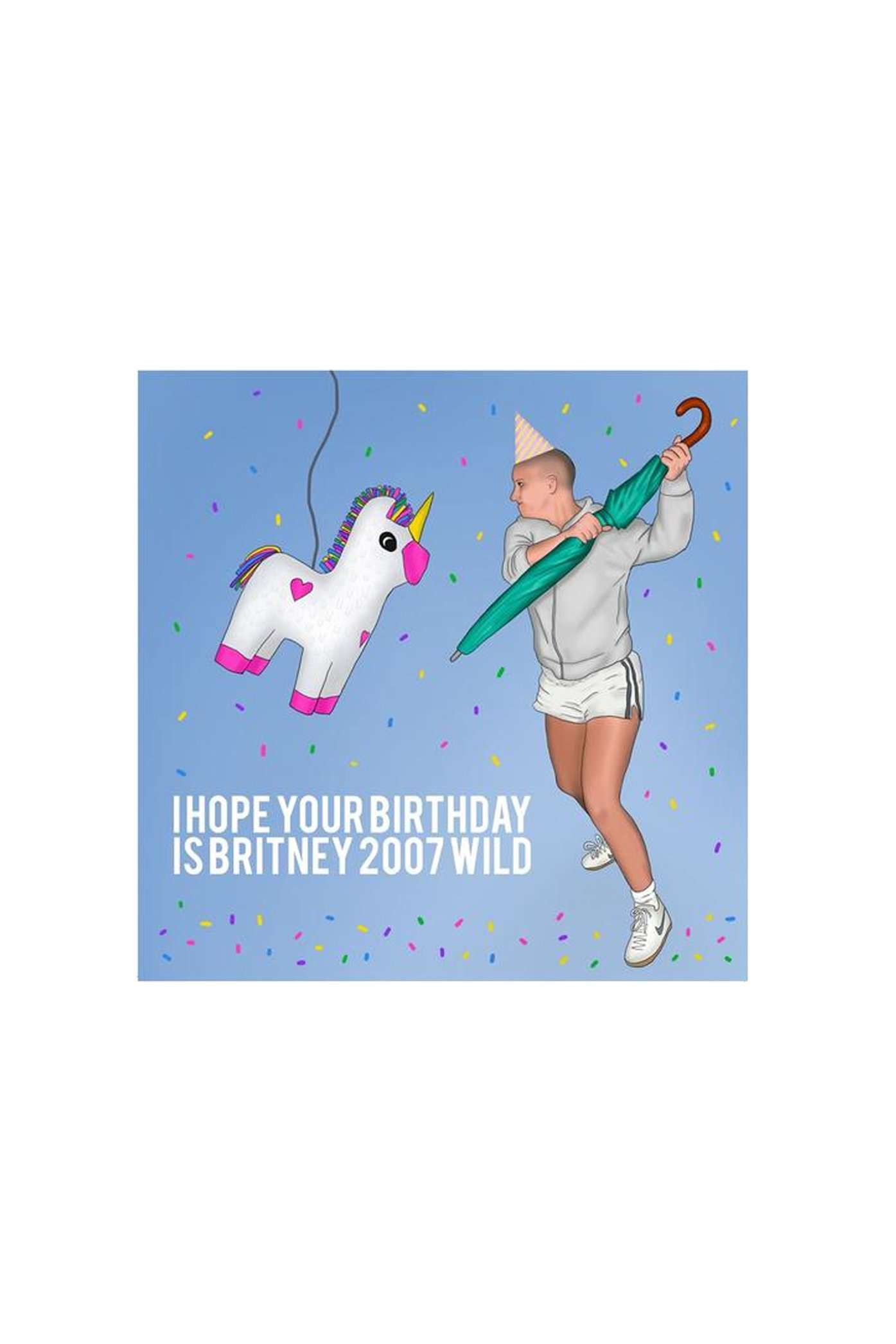 Central 23 Britney Spears Birthday Card