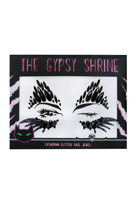 Gypsy Shrine Catwoman Face Jewel