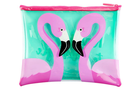 Sunnylife See Thru Flamingo Pouch