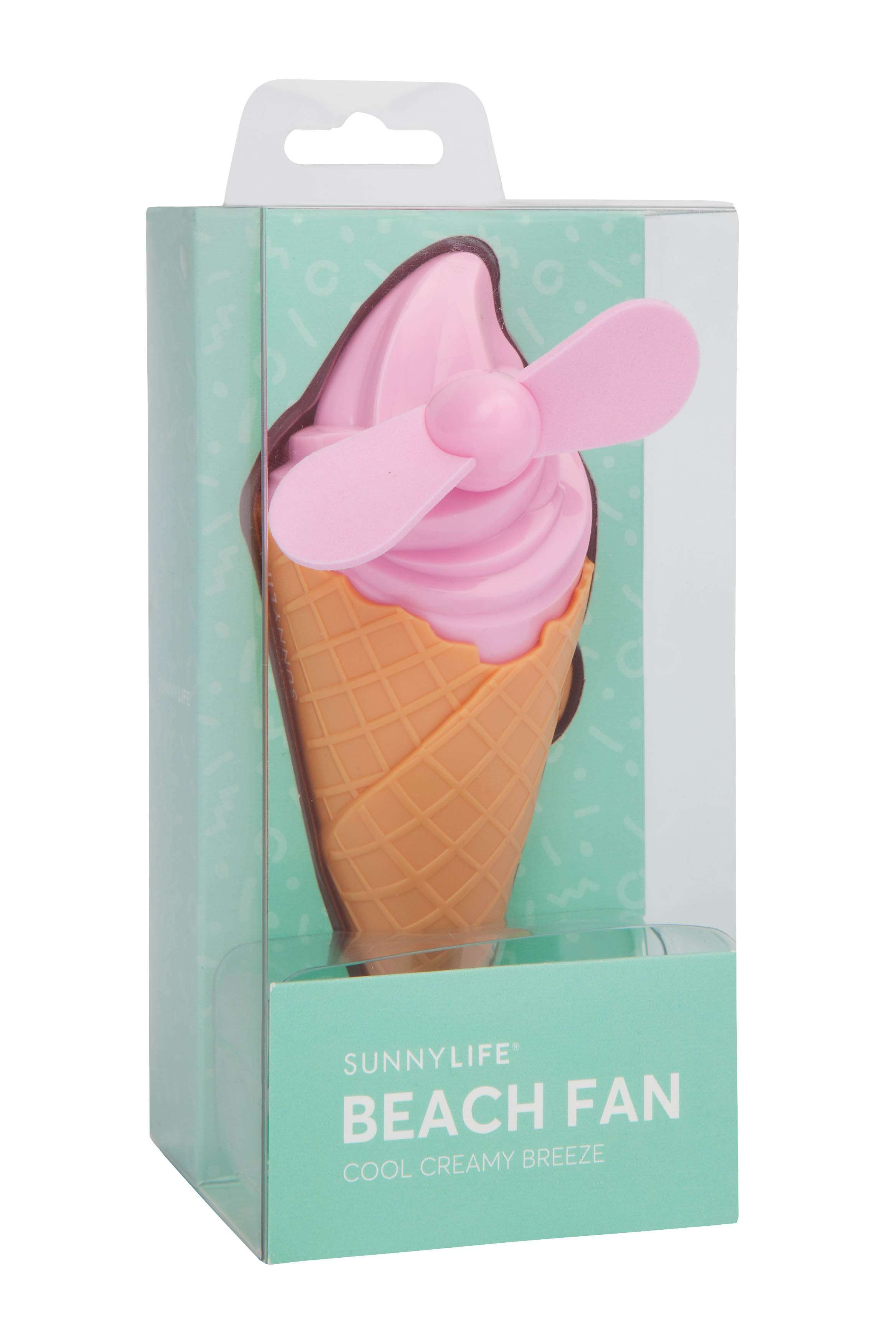 Sunnylife Beach Fan Ice Cream Pink
