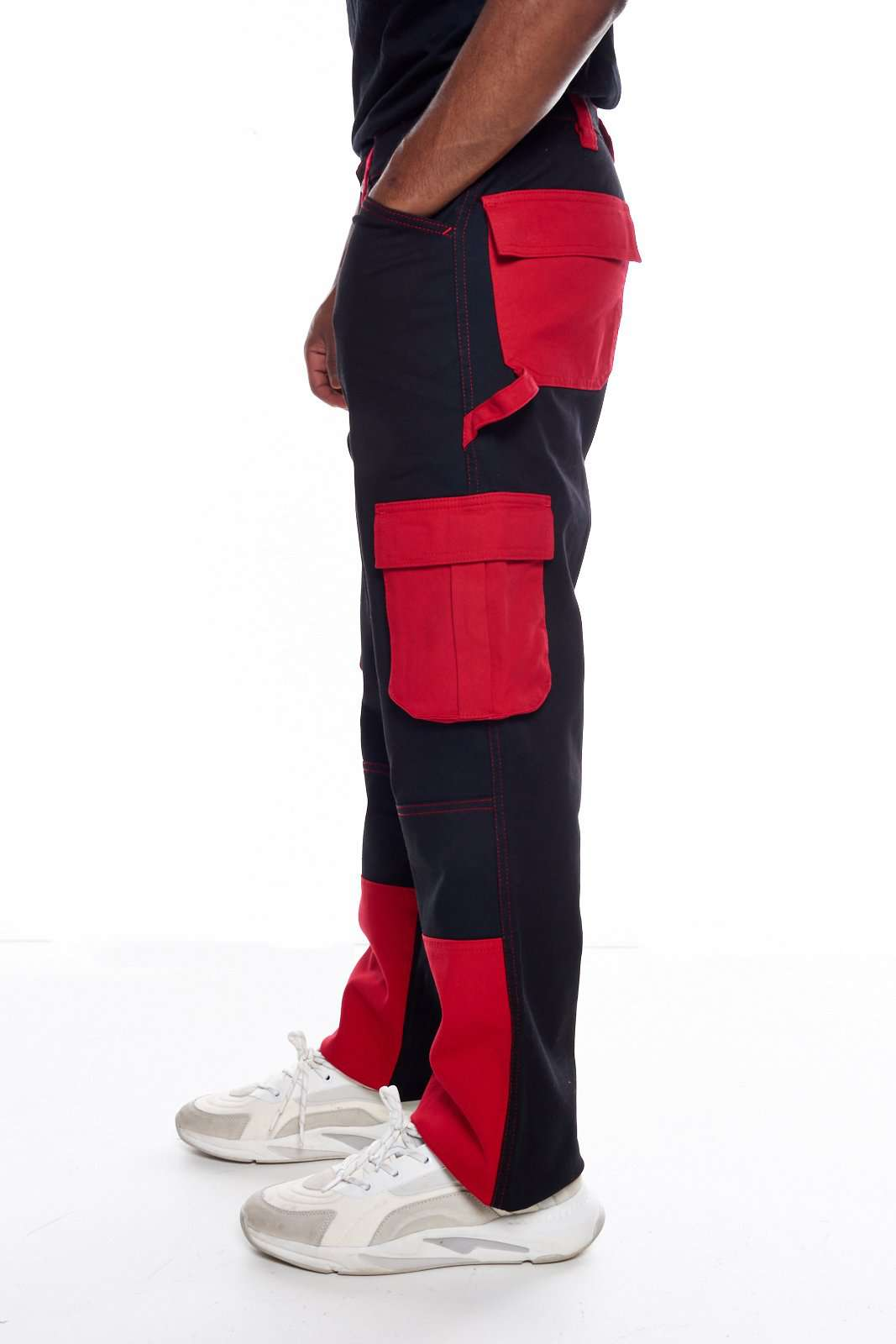 9428a665d4 Black & Red Cargo Pant | Granted London – Jaded London