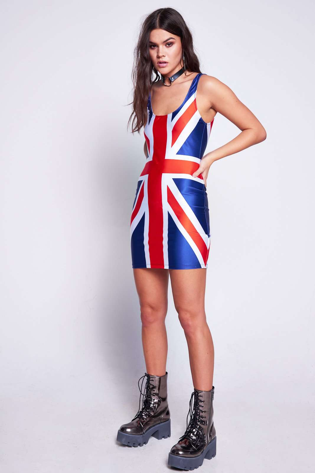 Union Jack Mini Cami Dress