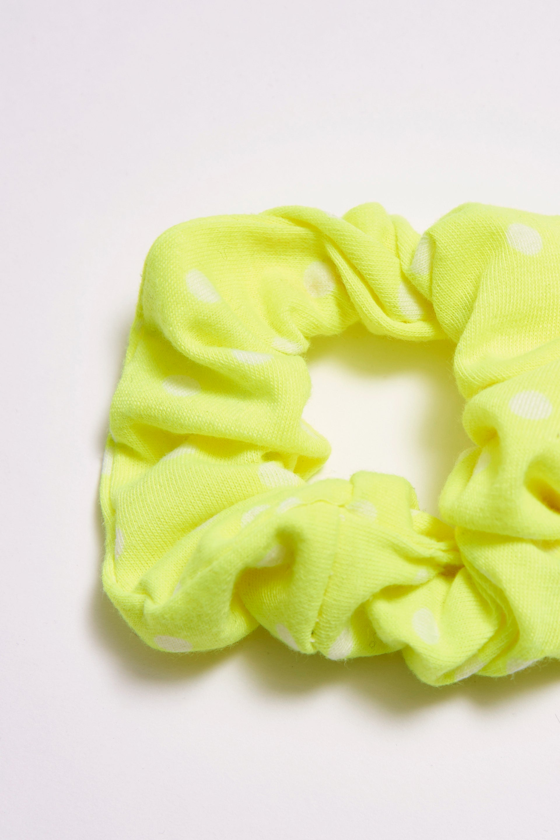 Neon Green Hair Scrunchie