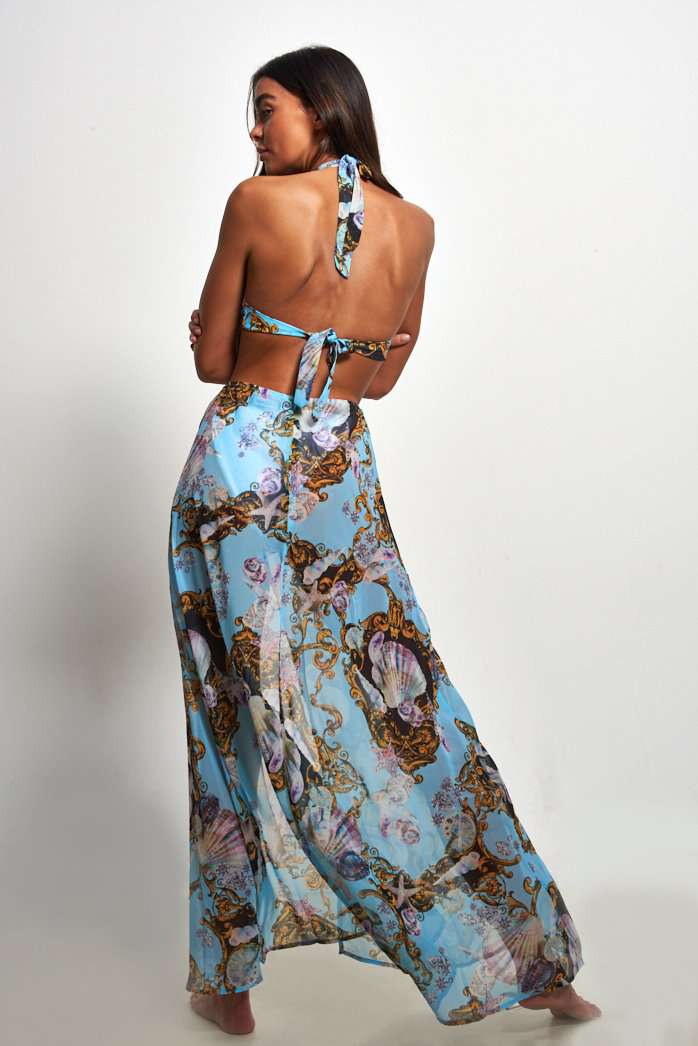 Under The Sea Maxi Beach Dress
