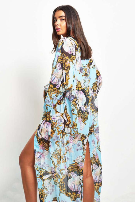 Under The Sea Baroque Kimono