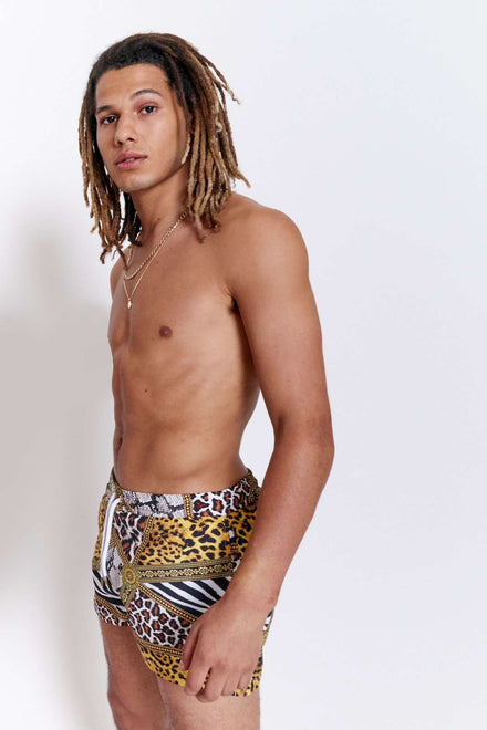 Animal Clash Swimshorts