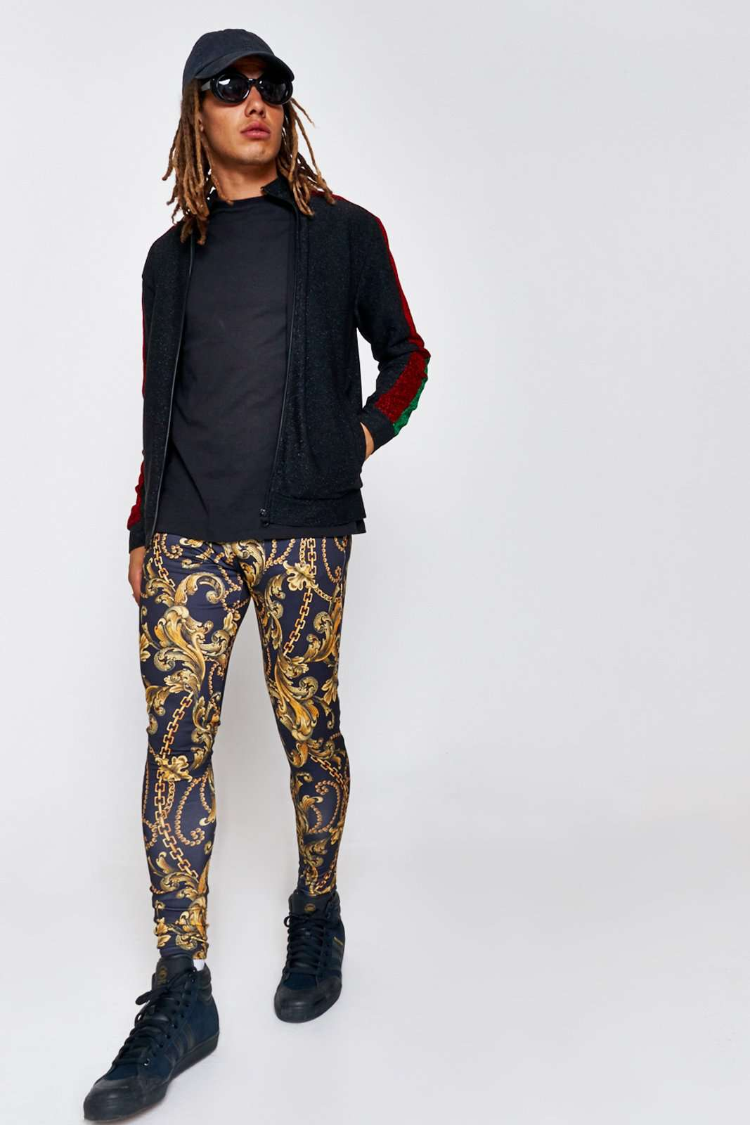 cc3784728a6c Baroque Chain Festival Meggings – Jaded London