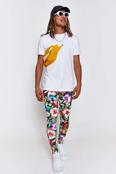Tropical Floral Festival Meggings