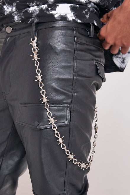 Barbed Wire Jean Chain