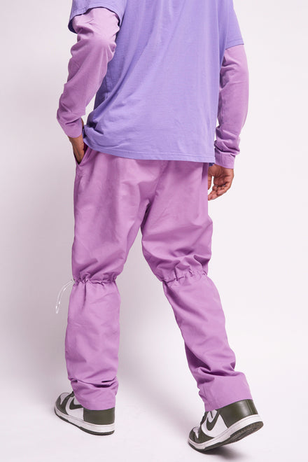 Technical Lilac Jogger With Toggle Detail