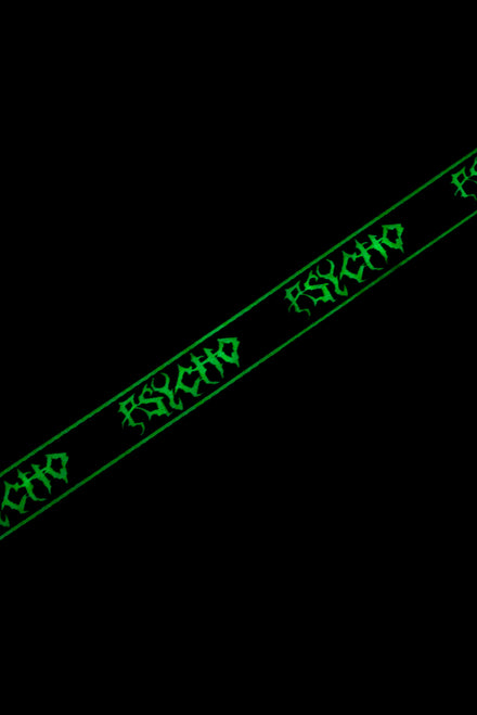 Glow In The Dark Psycho Industrial Belt
