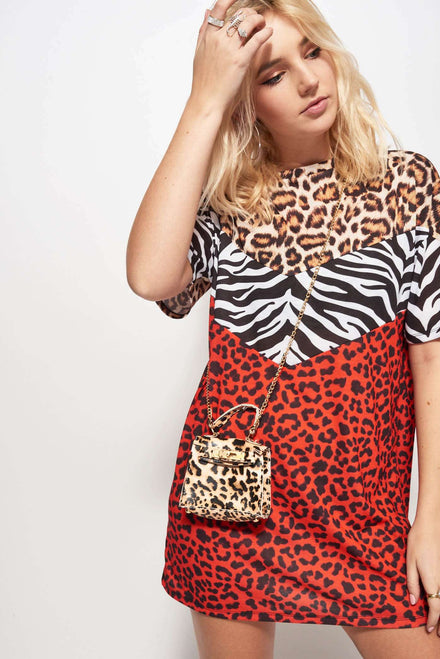 Leopard Print Mini Bag