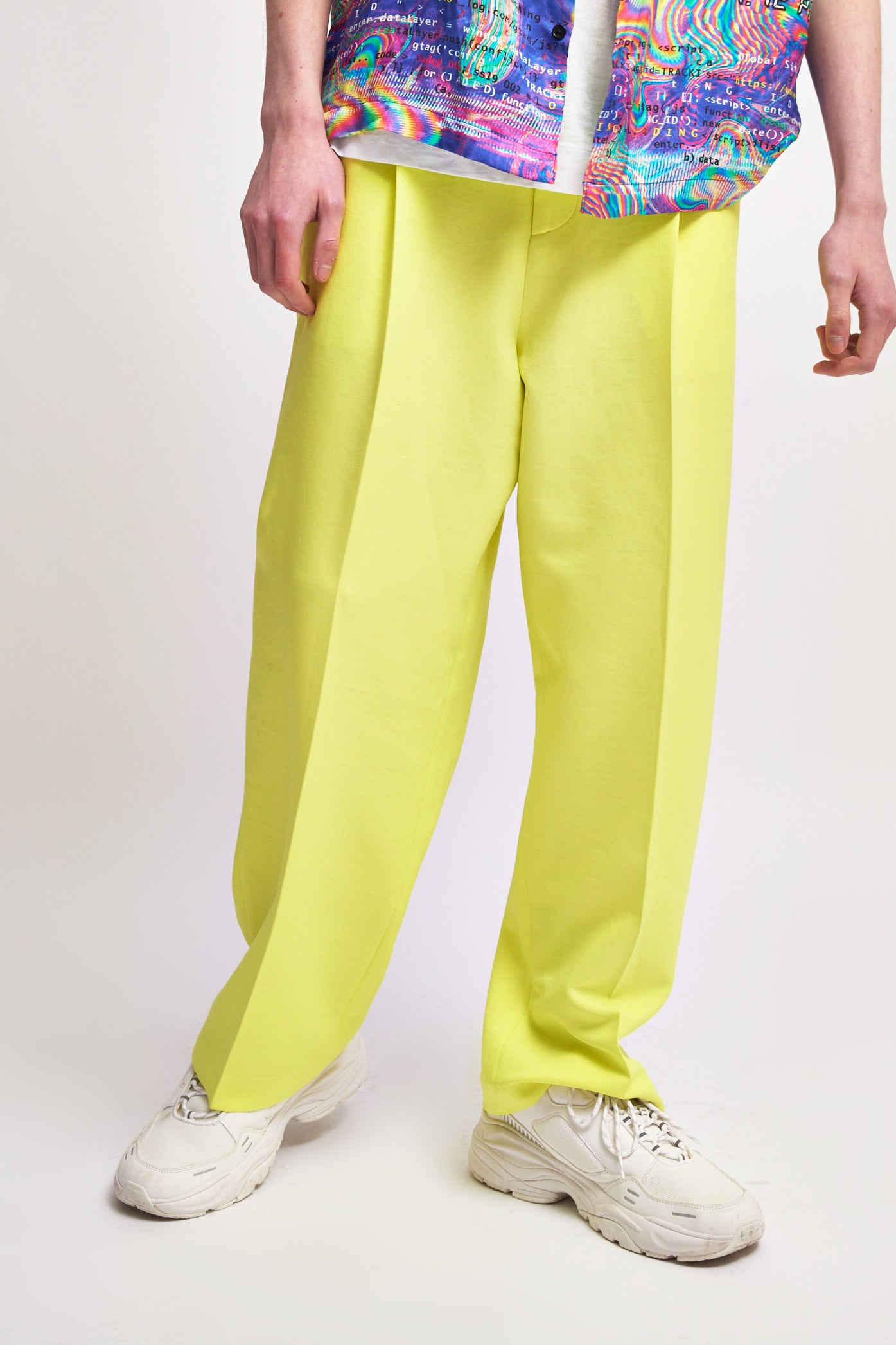 Neon Yellow Trousers