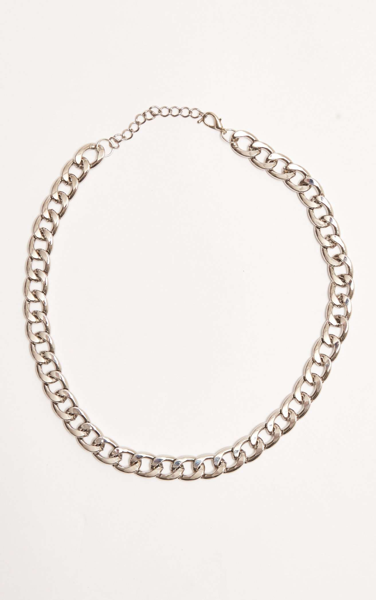 ec59fc3b2 Chunky Silver Chain Necklace | Jaded London