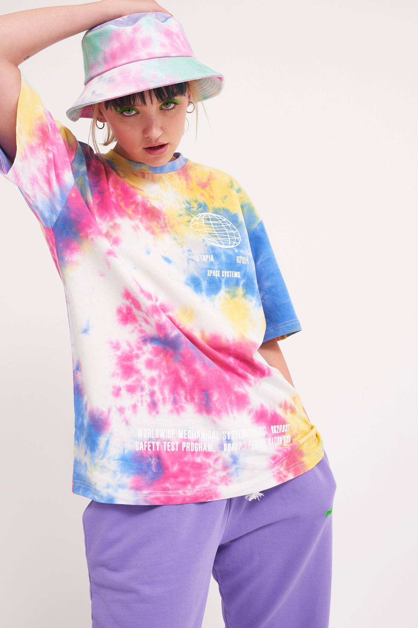 Parallel Tie Dye T-Shirt