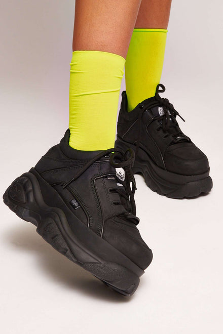 Neon Lime Socks