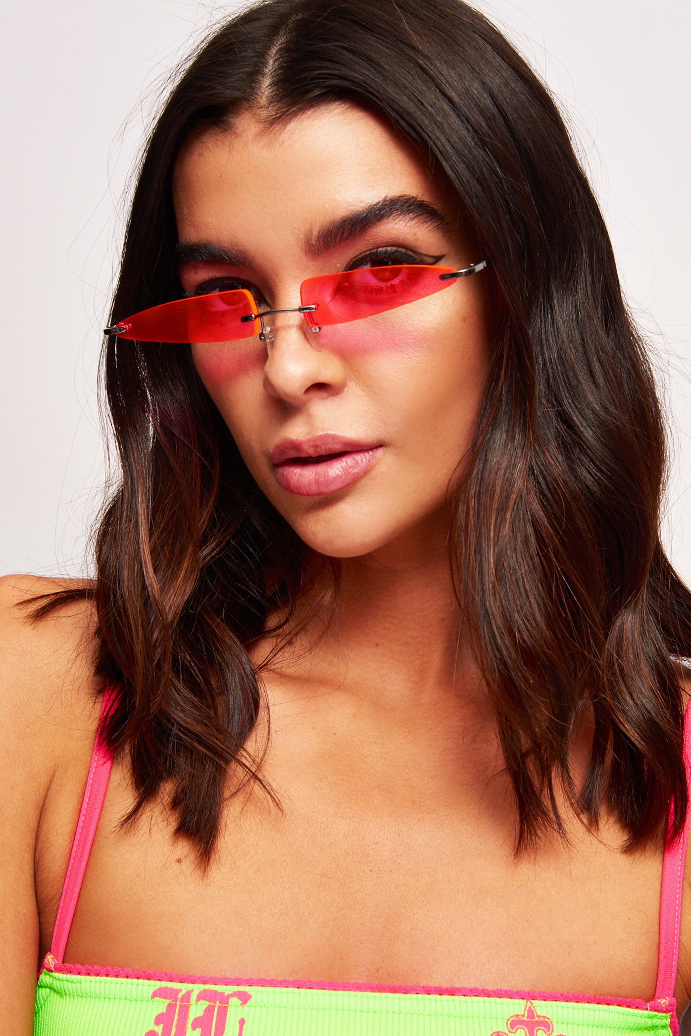 Want It All Pink Sunglasses