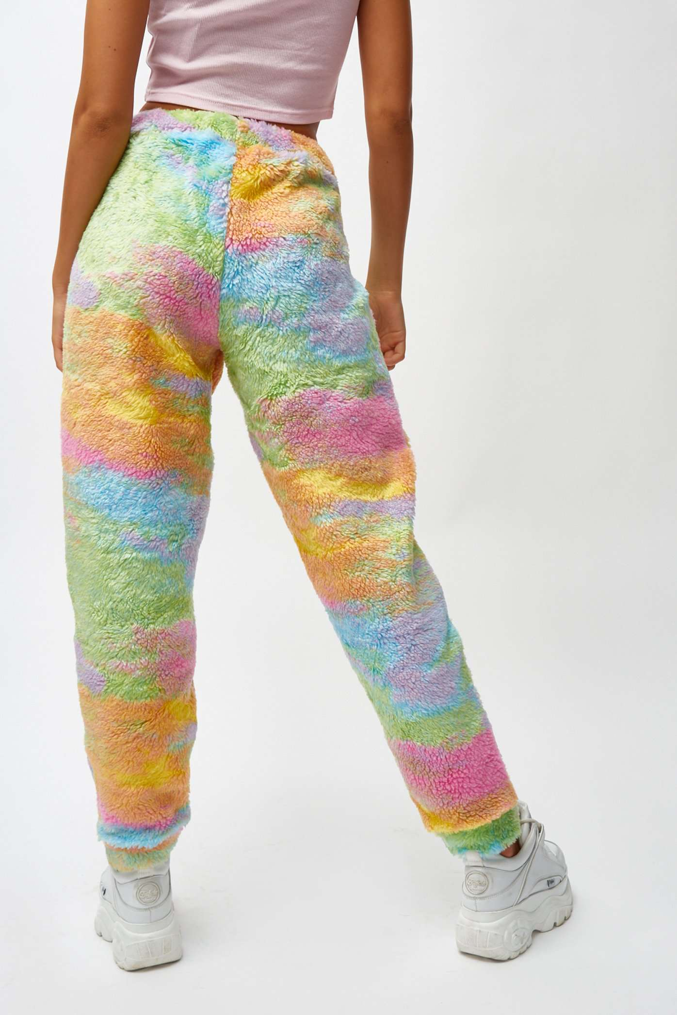Rainbow Fleece Joggers